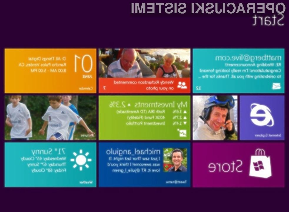 Operacijska sistema Windows 8 in Windows Phone 7 se bosta dopolnjevala!