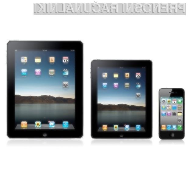 Nova Applova tablica iPad mini naj bi bila dostopna širšemu krogu ljudi.