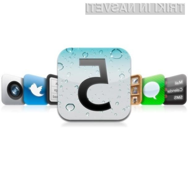 Applov mobilni operacijski sistem iOS 5 navdušuje v vseh pogledih!
