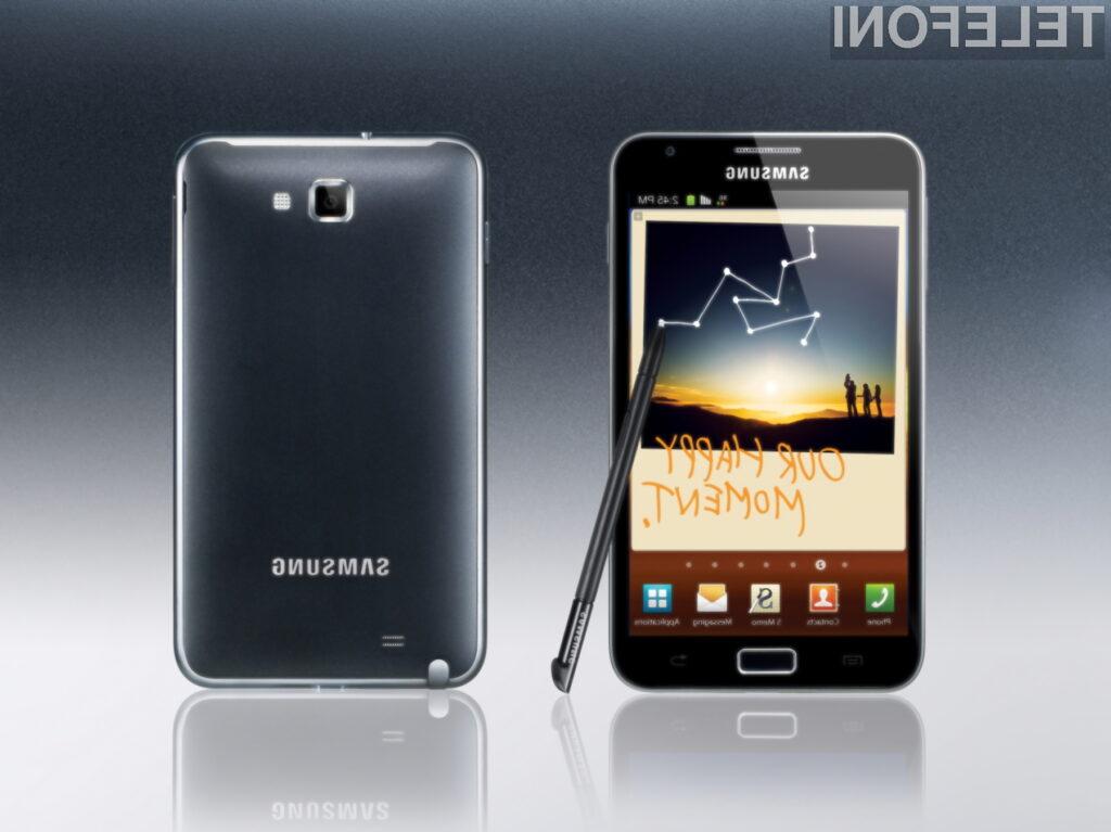 Če imate radi velik zaslon na mobilnem telefonu, Galaxy Note ne smete spregledati.