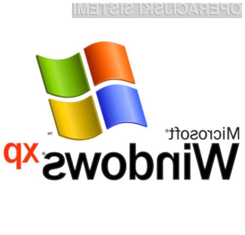 Operacijski sistem Windows XP bo med nami prisoten vsaj še desetletje!