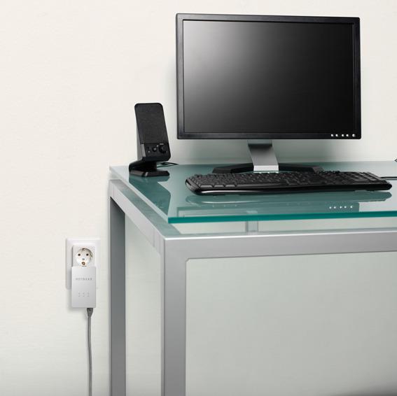 Homeplug pripelje internet v vsako sobo, kjer imate električno vtičnico