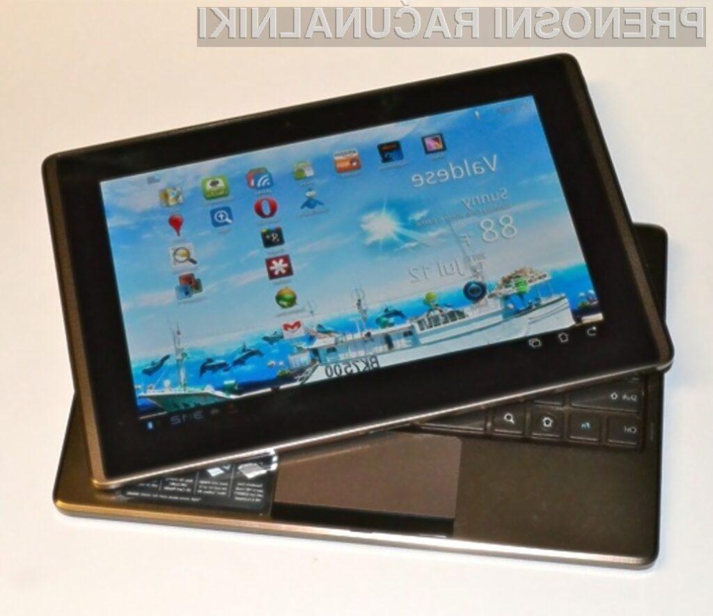 Asus Transformer 2 naj bi bil vsaj za razred boljši od Applove tablice iPad 3.