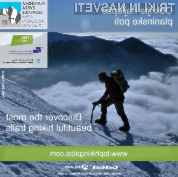 Načrtovanje planinskih tur in izletov je za aplikacijo GAEA+ sila preprosto in zabavno!