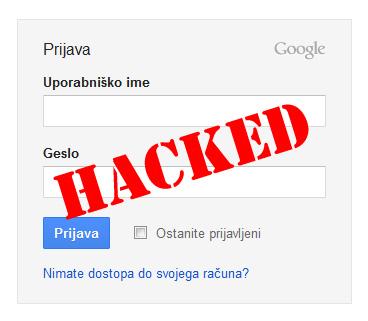 Vdori v uporabniške račune Gmail
