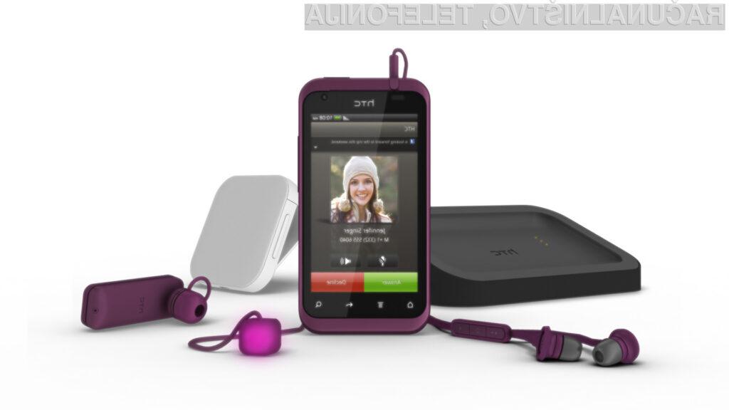 HTC Rhyme - nova elegantna telefonska izkušnja