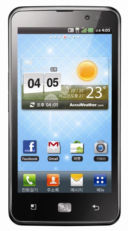 LG Mobile z modelom Optimus LTE prvi ponuja 4G HD pametni telefon