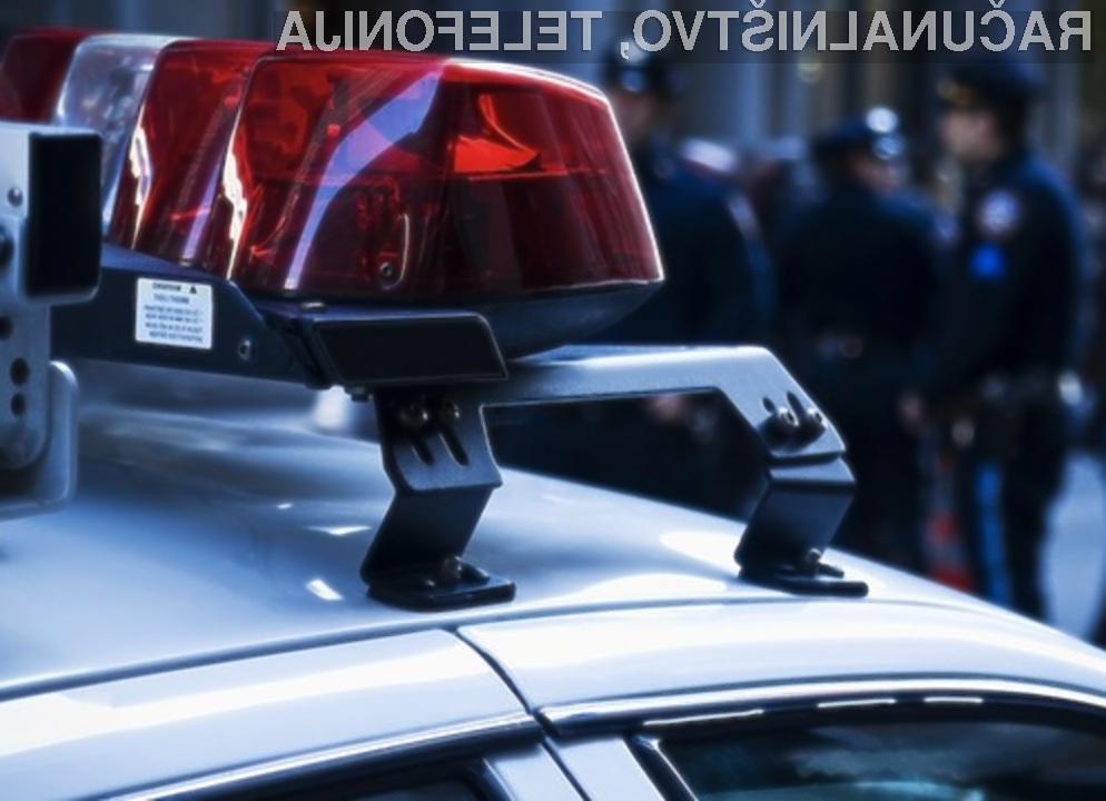 Policija nas bo kmalu aretirala še preden bomo zagrešili kriminalno dejanje.