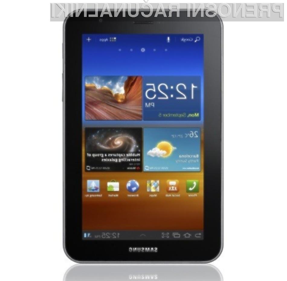 Tablični računalnik Samsung Galaxy Tab 7.0 Plus navdušuje v vseh pogledih!