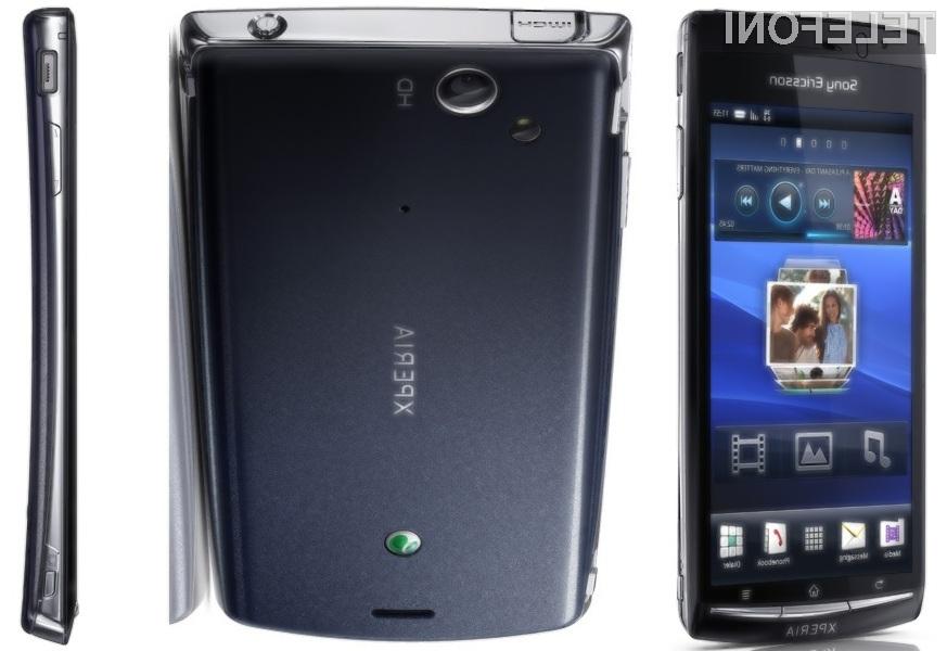 Sony Ericssonova serija Xperia je zelo popularna.