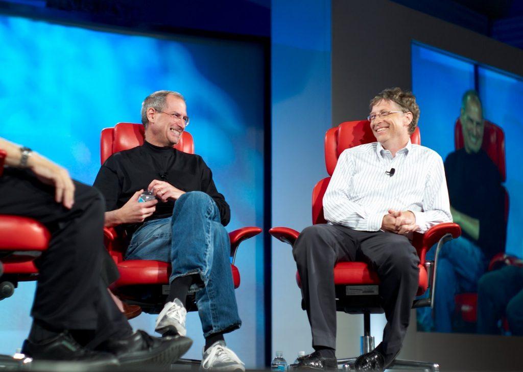 Bill Gates in Steve Jobs sta bila sodelavca, rivala in prijatelja.