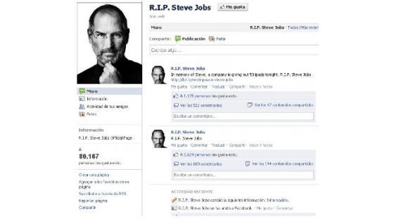 Prevaranti na Facebooku že izkoriščajo smrt Steva Jobsa