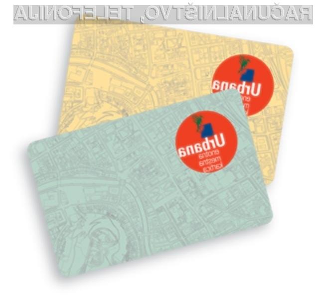 Enotne mestne kartice Urbana so varne!