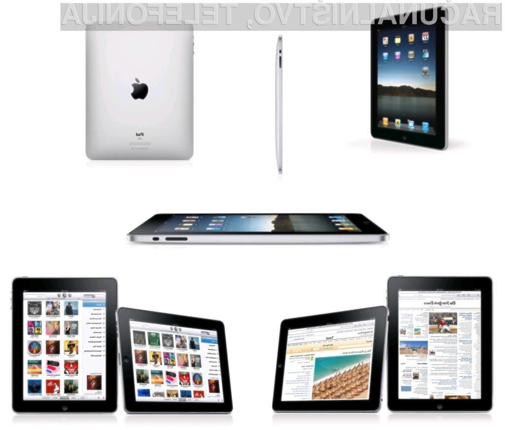 Proizvodni stroški iPadov so še enkrat manjši od prodajne cene.