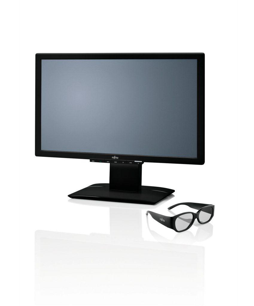 """Fujitsu je predstavil svoj prvi zaslon """"2-v-1"""", ki je zasnovan za uporabo v 2D in 3D tehniki"""