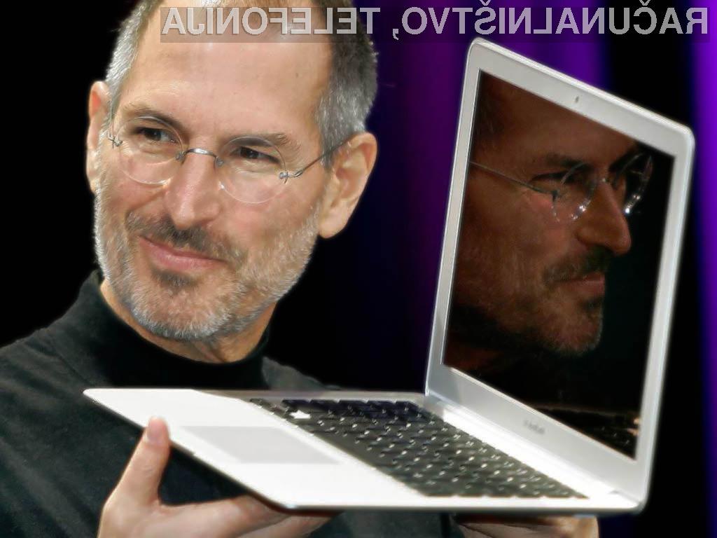 Steva Jobsa se bomo spominjali kot velikega inovatorja.
