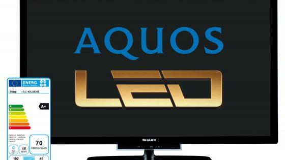 FULL HD LED TV SHARP LC-40LE530EV