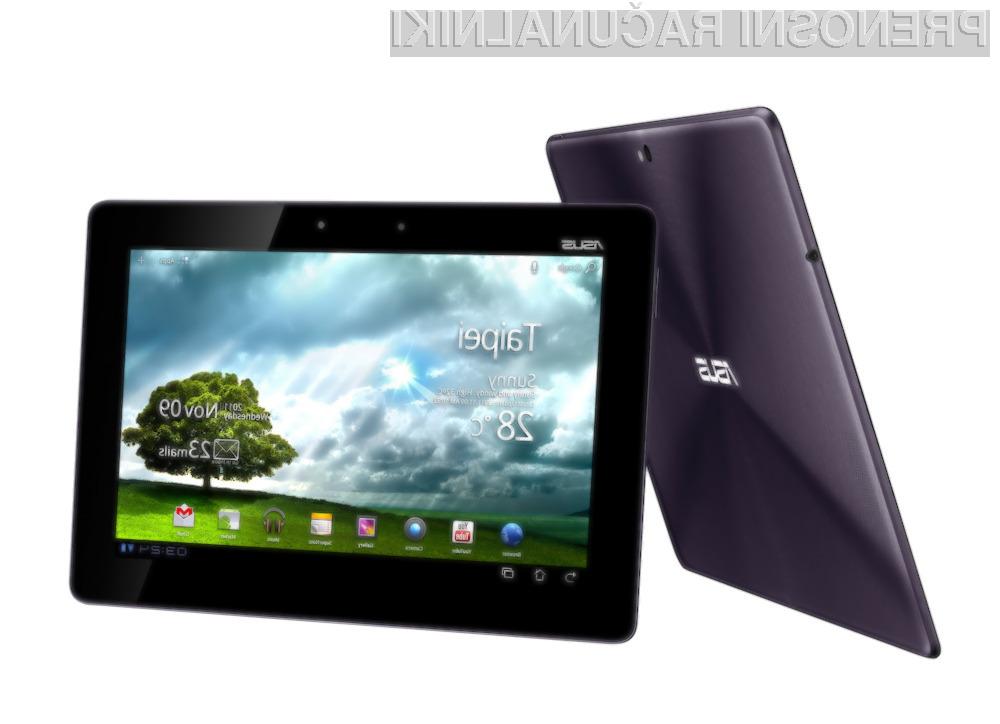 Asus Eee Pad Transformer Prime je vsaj za razred boljši od Applove tablice iPad 2.