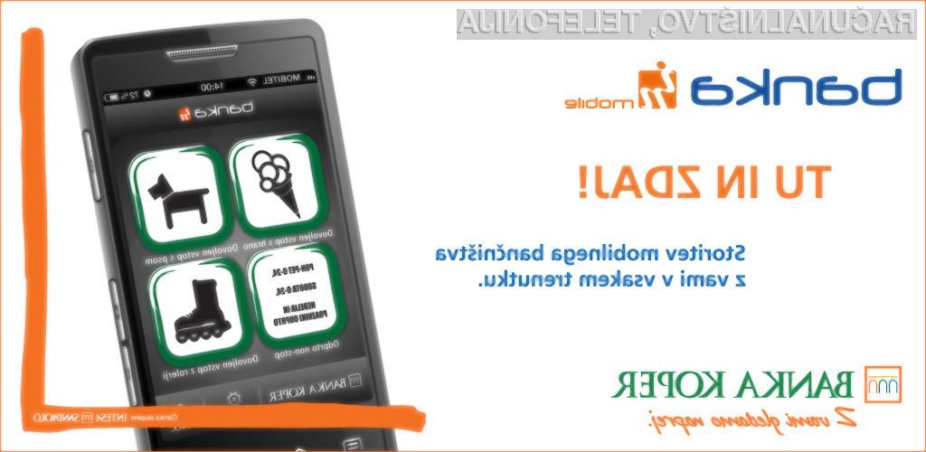 Novost v Sloveniji: Mobilna Banka IN