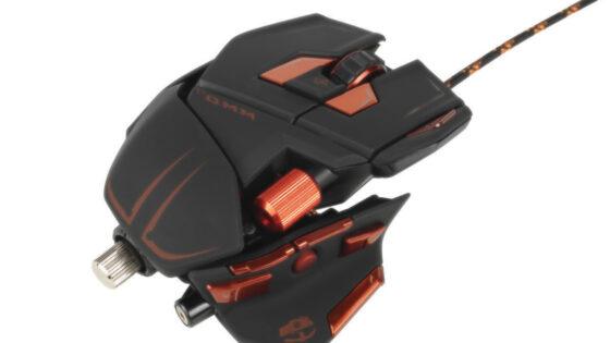 Oblika Cyborg M.M.O. 7 zagotovo zelo spominja na Mad Catzovo FFS linijo R.A.T.