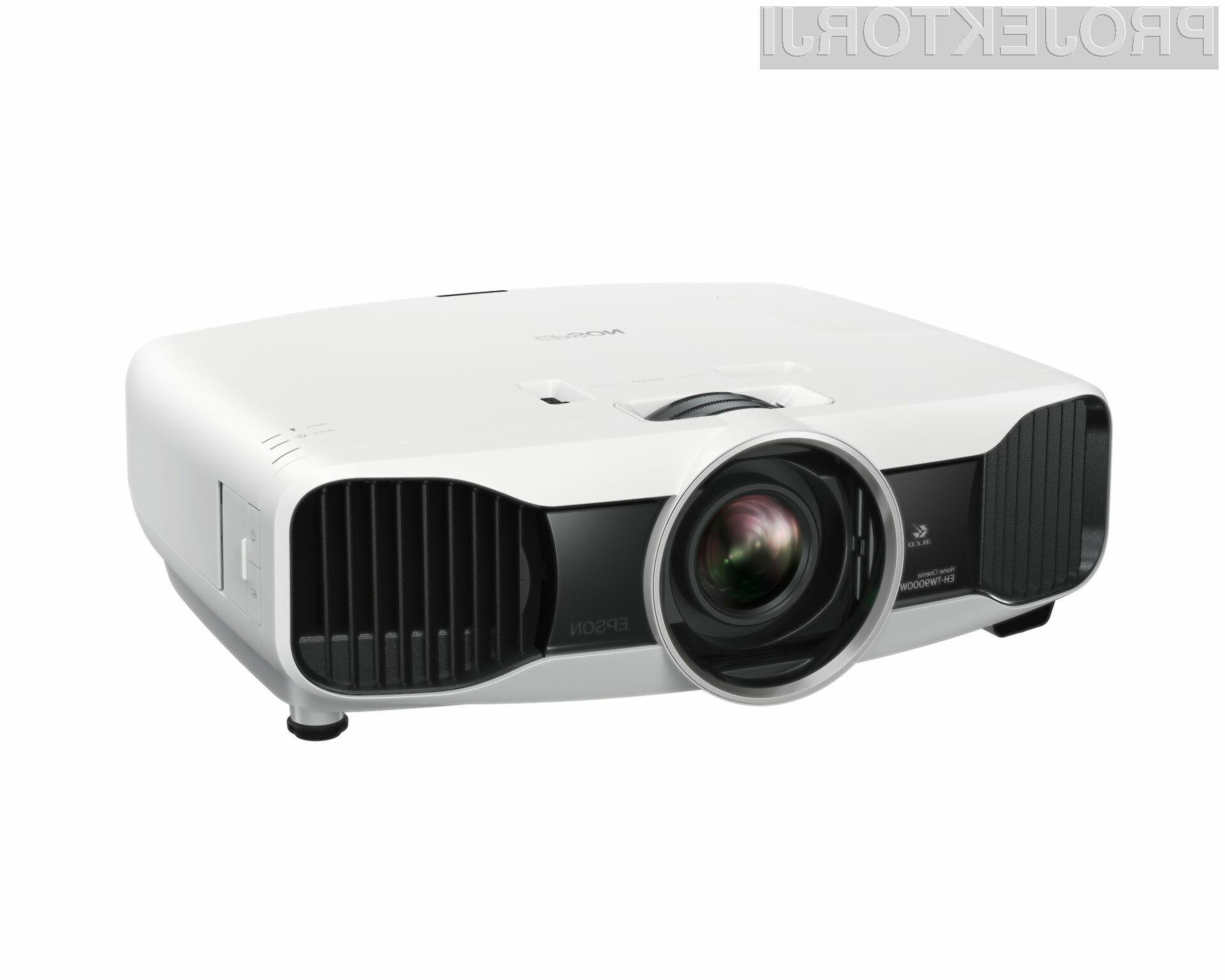 Model EH-TW9000W bo prvi Full HD 3D projektor, ki bo podpiral brezžično povezovanje.