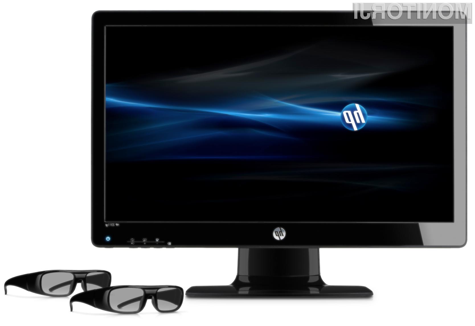 Tridimenzionalni učinek je podjetje HP doseglo s pomočjo pasivne tehnologije FLRJ (Film Patterned Retarder), ki od uporabnikov zahteva uporabo pasivnih 3D očal.