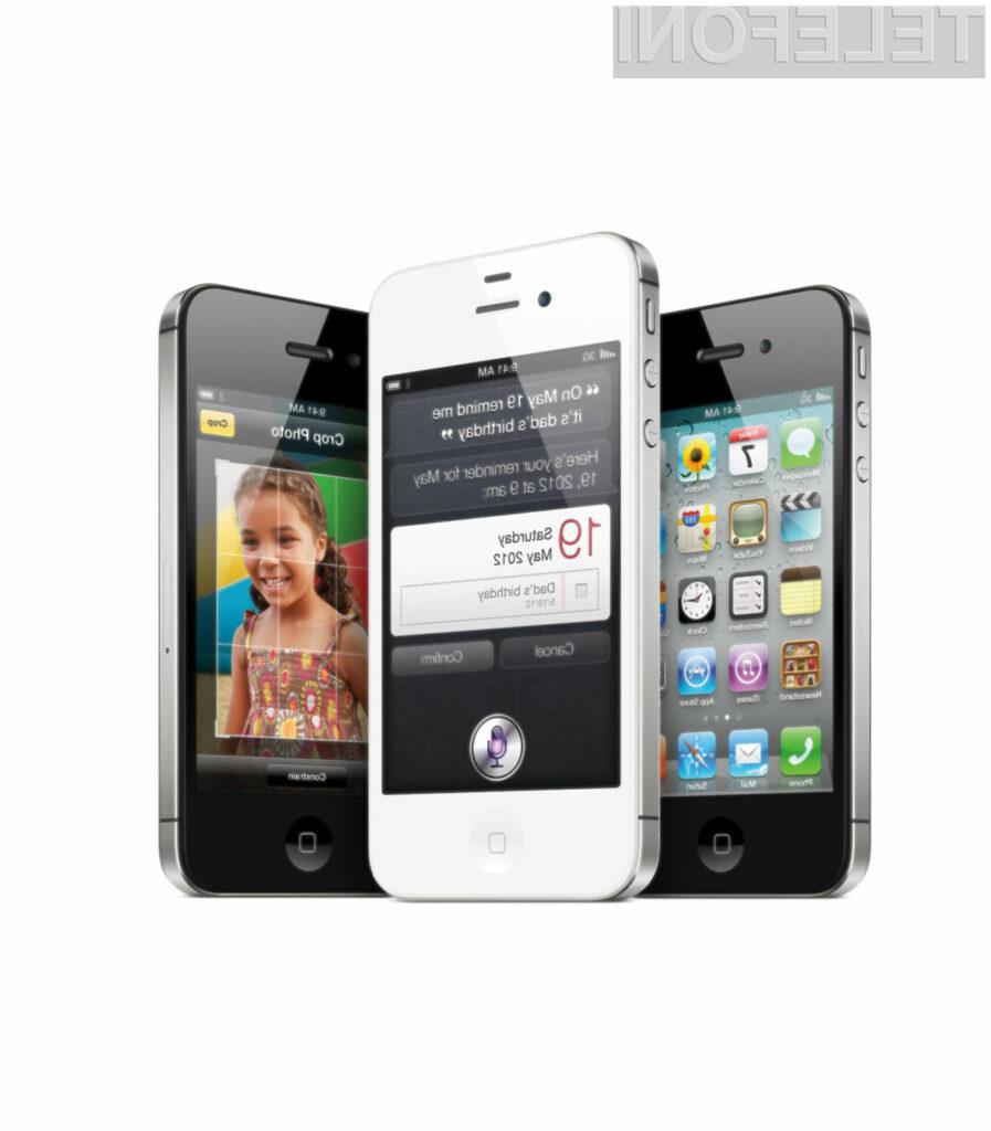 Tako kot pri vseh dosedanjih iPhonih je tudi pri najnovejši različici 4S prodaja zelo dobra.