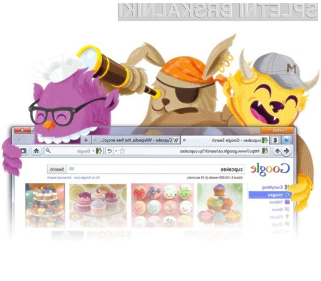 Po hitrosti delovanja se novi Mozilla Firefox 8 »uvršča« takoj za Chrome 15.