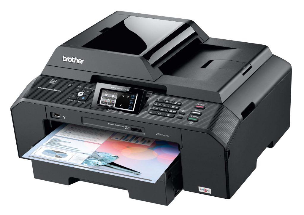Brizgalni A3 večfunkcijski tiskalnik Brother MFC-J5910DW
