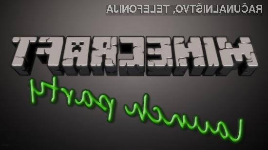Minecraft launch party v Kiberpipi