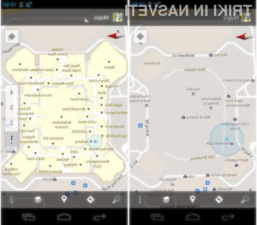 Z aplikacijo Google Maps 6.0 se bomo težko izgubili!