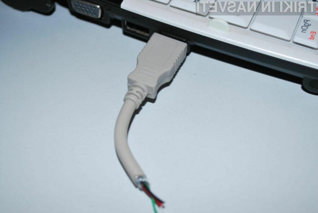 Voila! Usb ključ - kabel je pečen!