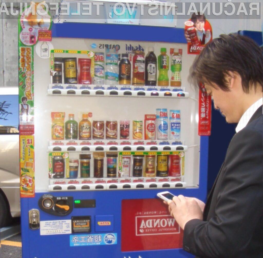 Samopostrežni prodajni avtomati hrane in pijače ter brezplačni internet: Odlična naveza!