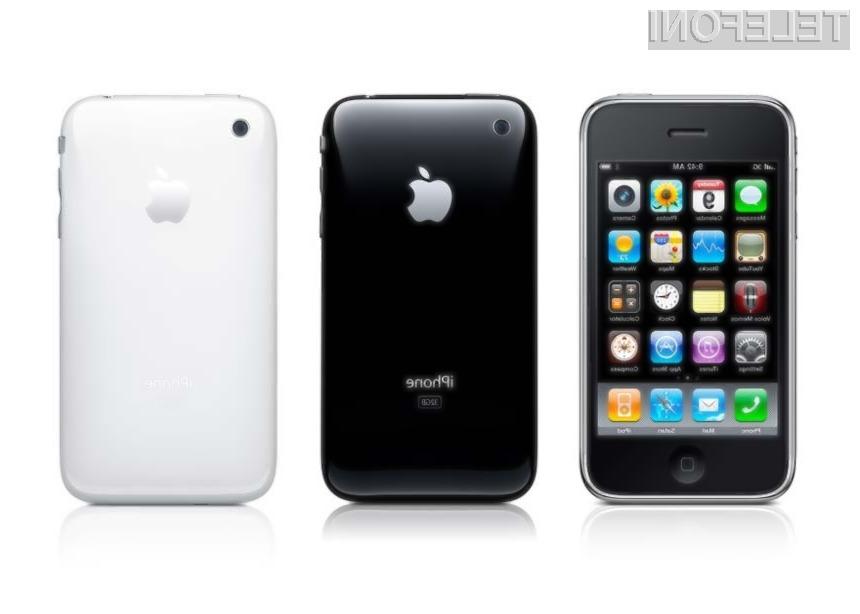 Četudi ima že dva naslednika, iPhone 3GS še naprej ostaja v prodaji.