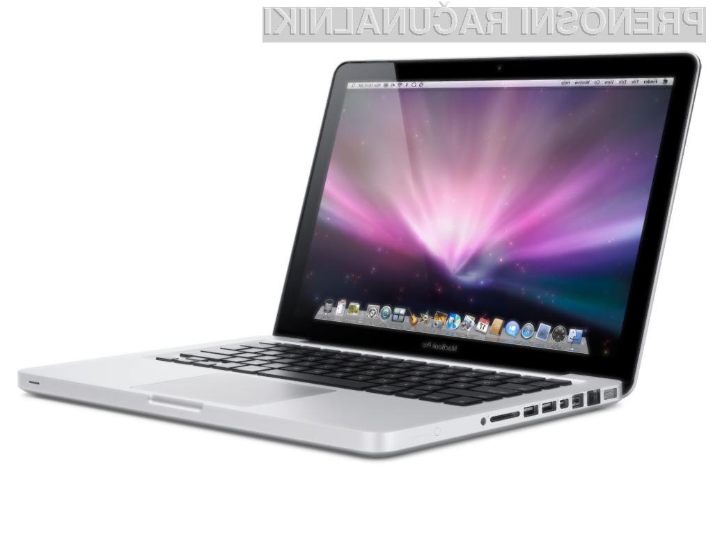 Novi Applovi prenosni računalniki MacBook Pro naj bi bili razred zase!