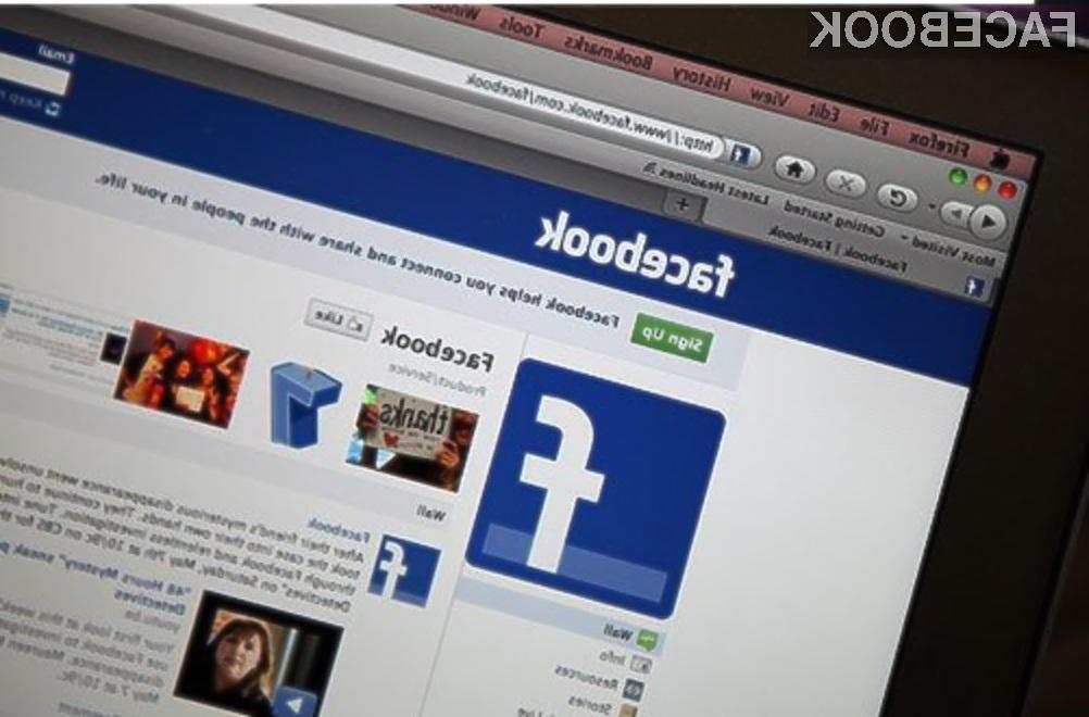 Če si boste želeli vzeti življenje, vas bo Facebook poskušal rešiti.