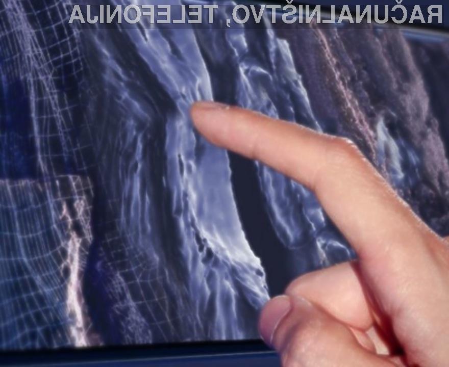 Kmalu se bomo lahko dotaknili vsega, kar bo prikazano na zaslonu!
