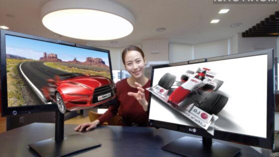 Monitorja DX2500 bodo veseli tako filmofili kot igričarji.
