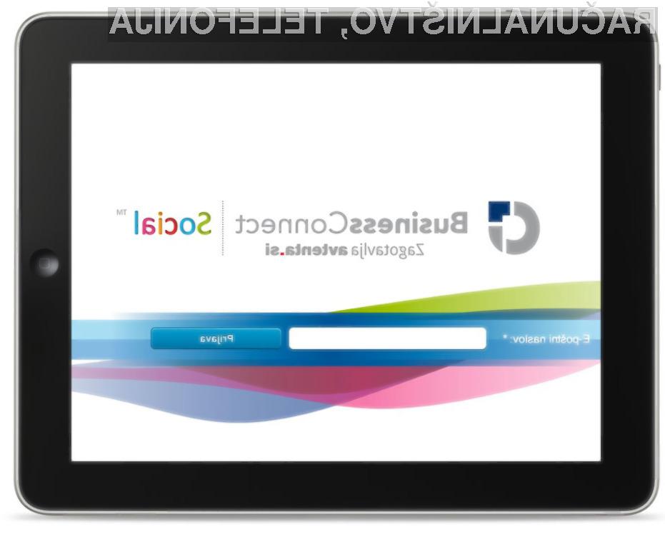 BusinessConnect Social stopa na globalni trg rešitev za učinkovito poslovanje podjetij