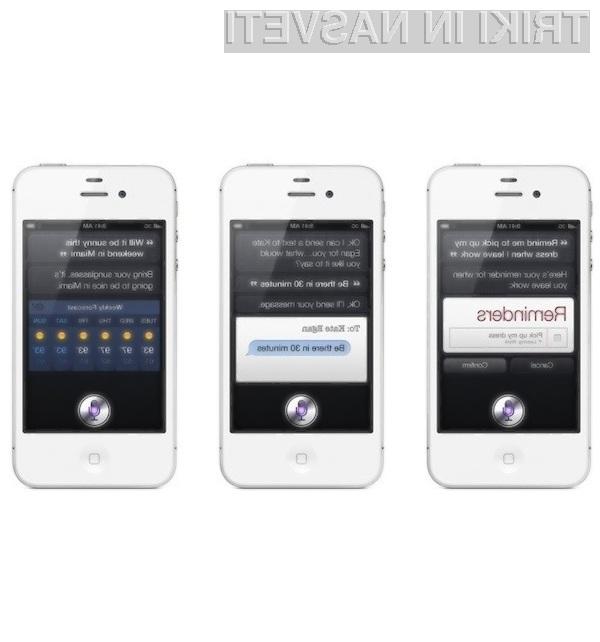 Asistenta Siri je zaradi njene praktične uporabnosti zelo želena med uporabniki mobilnih naprav!