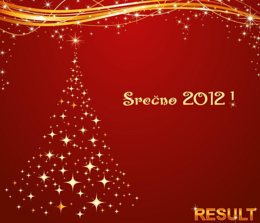 Srečno 2012!