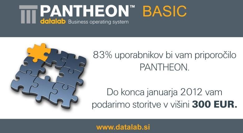 83% uporabnikov bi priporočilo PANTHEON