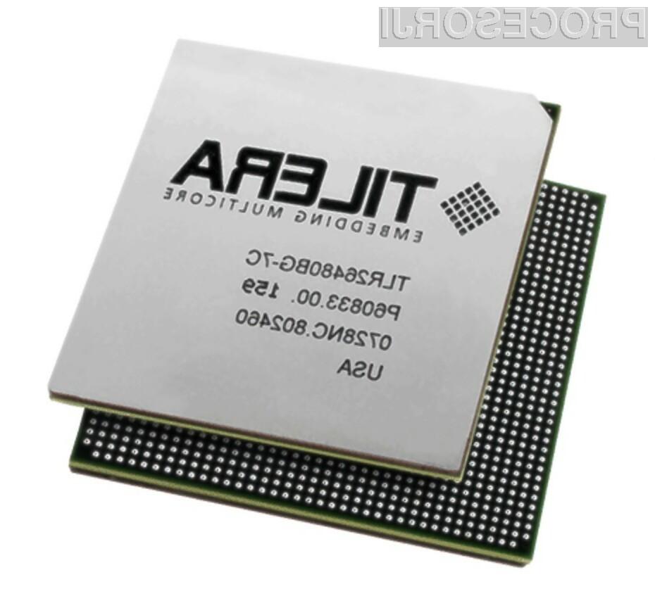 Stojedrno čipovje podjetja Tilera naj bi preračunavalo podatke kot za stavo!