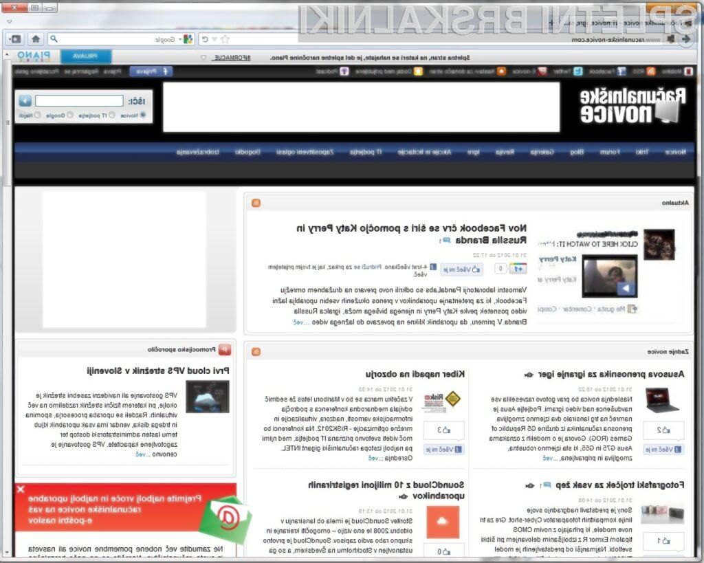 Firefox oblikovno postaja vse bolj podoben Chromu.