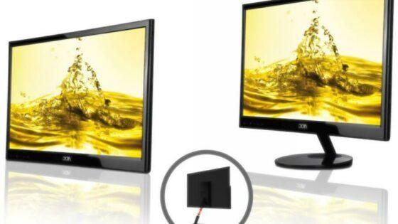 Monitor AOC e2251Fwu lahko elegantno reši potrebo po večjem delovnem prostoru.