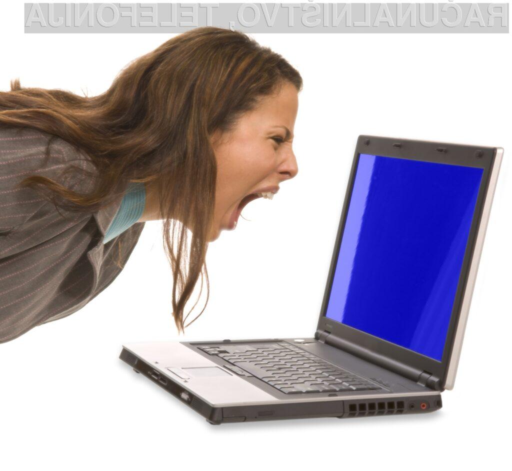 Vas je programska oprema že spravila ob živce?
