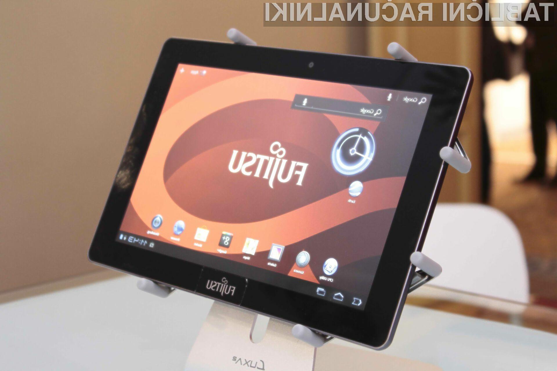 Fujitsu Stylistic M532 se ponaša z velikim  10,1 palčnim zaslonom in deluje na Nvidijini platformi Tegra 3.