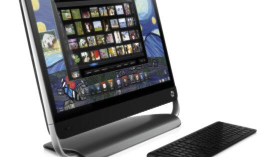 Računalnik prihaja v paketu s programsko opremo HP Magic Canvas, ki omogoča horizontalno razširitev namizja.