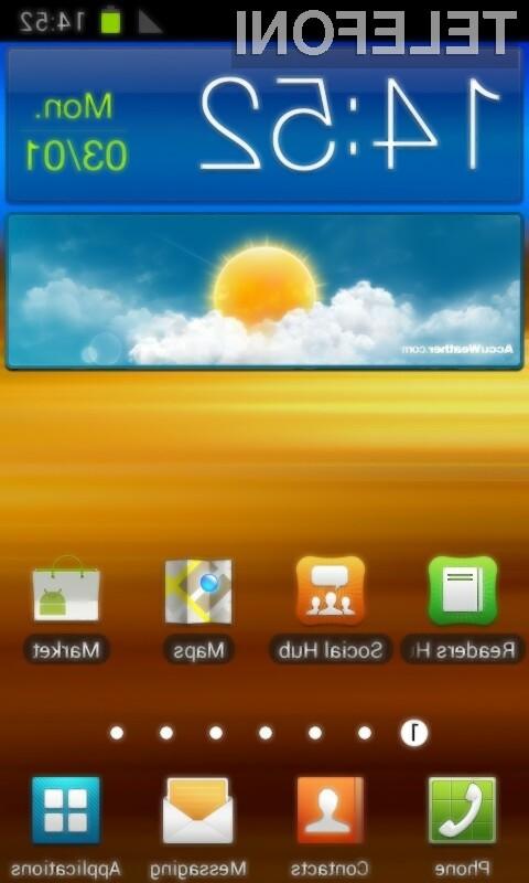 Mobilni operacijski sistem Android 4.0 Ice Cream Sandwich se odlično prilega mobilniku Samsung Galaxy S2!