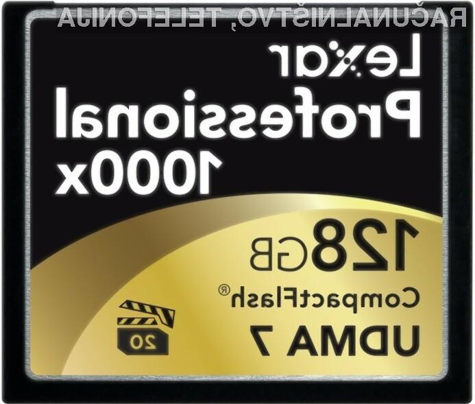 Za največjo 128 gigabajtno kartico bo potrebno odšteti vrtoglavih 899,99 dolarjev.